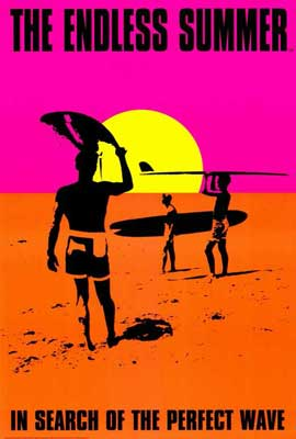 The Endless Summer - 27 x 40 Movie Poster - Style C
