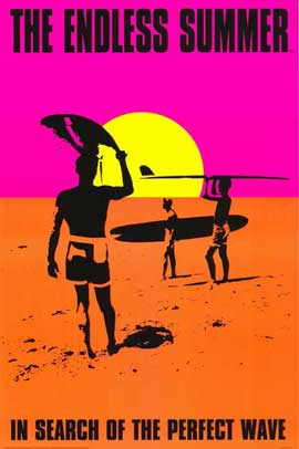 The Endless Summer - 11 x 17 Movie Poster - Style E