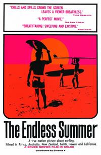The Endless Summer - 11 x 17 Movie Poster - Style A - Museum Wrapped Canvas