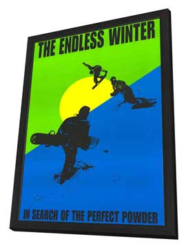 Endless Winter - 27 x 40 Movie Poster - Style A - in Deluxe Wood Frame