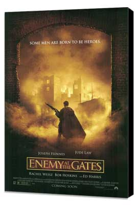 Enemy at the Gates - 27 x 40 Movie Poster - Style B - Museum Wrapped Canvas