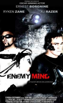 Enemy Mind - 11 x 17 Movie Poster - Style A