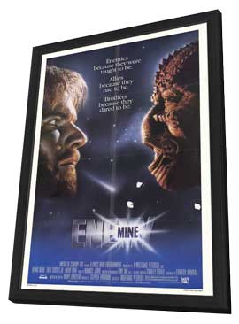 Enemy Mine - 27 x 40 Movie Poster - Style A - in Deluxe Wood Frame