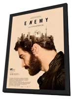 Enemy - 11 x 17 Movie Poster - Spanish Style A - in Deluxe Wood Frame