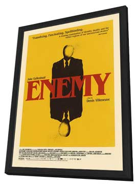 Enemy - 11 x 17 Movie Poster - Style A - in Deluxe Wood Frame