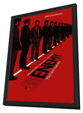 Enemy - 11 x 17 Movie Poster - Canadian Style A - in Deluxe Wood Frame