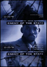 Enemy of the State - 43 x 62 Movie Poster - Bus Shelter Style A