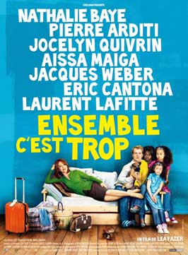 Ensemble, c'est trop - 11 x 17 Movie Poster - French Style A