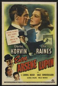 Enter Arsene Lupin - 11 x 17 Movie Poster - Style A