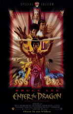Enter the Dragon - 11 x 17 Movie Poster - Style B