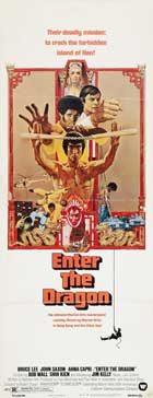 Enter the Dragon - 14 x 36 Movie Poster - Insert Style A
