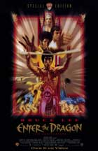 Enter the Dragon - 11 x 17 Movie Poster - Style B - Museum Wrapped Canvas