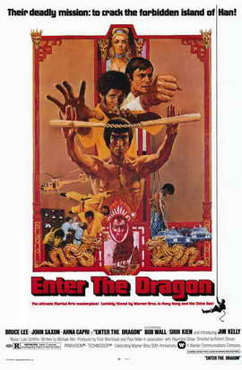 Enter the Dragon - 11 x 17 Movie Poster - Style A