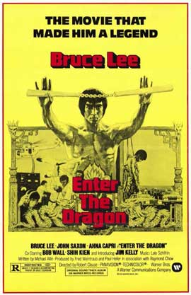 Enter the Dragon - 11 x 17 Movie Poster - Style C