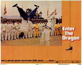 Enter the Dragon - 11 x 14 Movie Poster - Style D