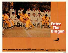Enter the Dragon - 11 x 14 Movie Poster - Style F