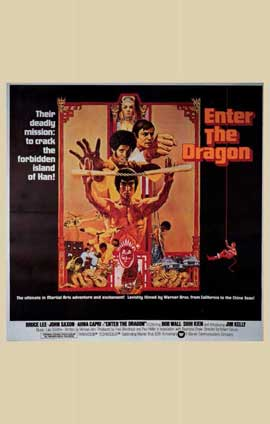 Enter the Dragon - 11 x 17 Movie Poster - Style G