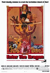 Enter the Dragon - 43 x 62 Movie Poster - Bus Shelter Style A