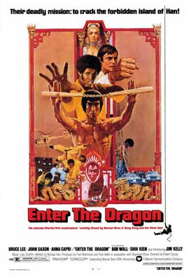 Enter the Dragon - 27 x 40 Movie Poster - Style A