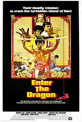 Enter the Dragon - 11 x 17 Movie Poster - Style I
