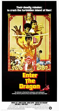 Enter the Dragon - 43 x 62 Movie Poster - Bus Shelter Style B