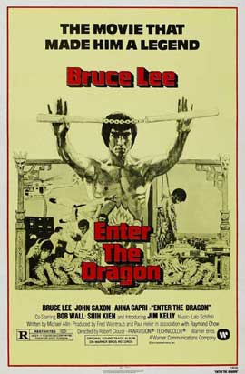 Enter the Dragon - 11 x 17 Movie Poster - Style J