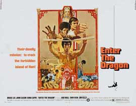 Enter the Dragon - 11 x 17 Movie Poster - Style K