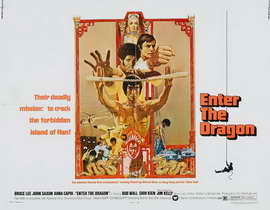 Enter the Dragon - 27 x 40 Movie Poster - Style F