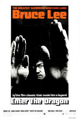 Enter the Dragon - 27 x 40 Movie Poster - Style G