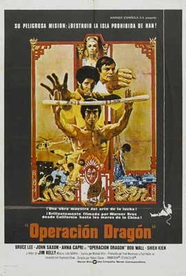 Enter the Dragon - 27 x 40 Movie Poster - Spanish Style B