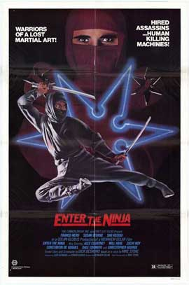 Enter the Ninja - 27 x 40 Movie Poster - Style A
