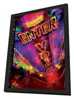 Enter the Void - 27 x 40 Movie Poster - French Style B - in Deluxe Wood Frame
