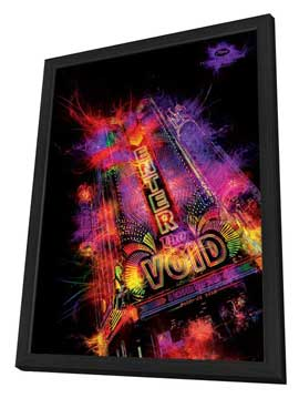 Enter the Void - 27 x 40 Movie Poster - French Style A - in Deluxe Wood Frame
