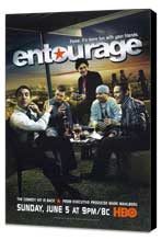 Entourage - 11 x 17 TV Poster - Style B - Museum Wrapped Canvas