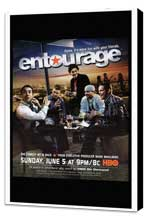 Entourage - 27 x 40 TV Poster - Style A - Museum Wrapped Canvas