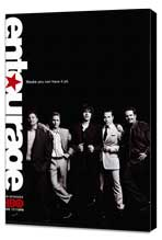 Entourage - 27 x 40 TV Poster - Style C - Museum Wrapped Canvas