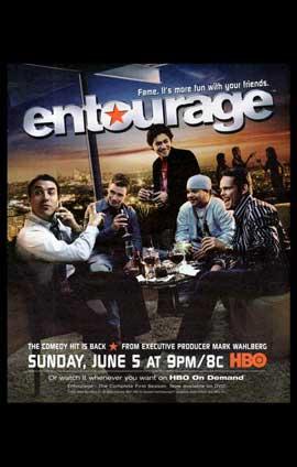 Entourage - 11 x 17 TV Poster - Style A