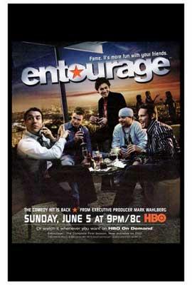Entourage - 27 x 40 TV Poster - Style A