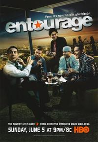 Entourage - 43 x 62 Movie Poster - Bus Shelter Style A