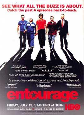 Entourage - 27 x 40 TV Poster - Style M
