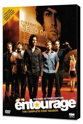 Entourage - 27 x 40 TV Poster - Style N - Museum Wrapped Canvas