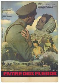 Entre Dos Fuegos - 27 x 40 Movie Poster - Spanish Style A