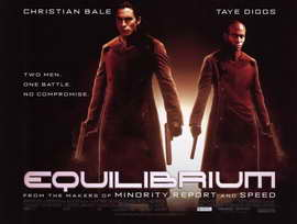 Equilibrium - 11 x 17 Movie Poster - Style B