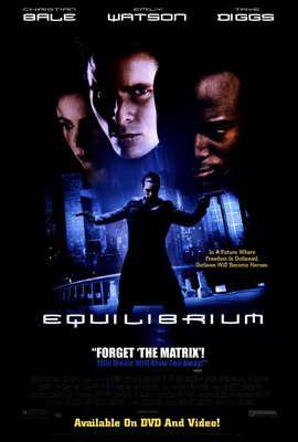 Equilibrium - 27 x 40 Movie Poster - Style C