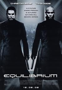 Equilibrium - 43 x 62 Movie Poster - Bus Shelter Style A