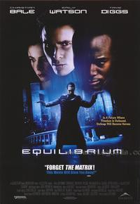 Equilibrium - 43 x 62 Movie Poster - Bus Shelter Style B
