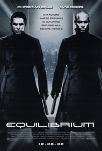 Equilibrium - 11 x 17 Movie Poster - Style A - Museum Wrapped Canvas