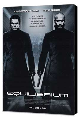 Equilibrium - 27 x 40 Movie Poster - Style A - Museum Wrapped Canvas