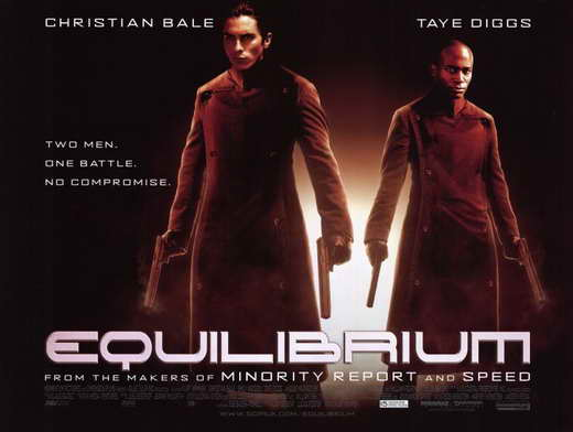 Equilibrium movie poster