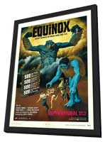 Equinox - 11 x 17 Movie Poster - Style B - in Deluxe Wood Frame